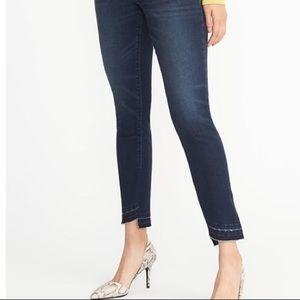 Old Navy Rockstar Raw Hem Skinny Jeans